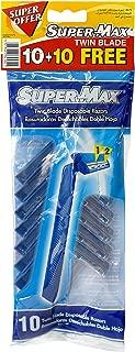 Men Twin Blade Disposable Short Handle 10+ 10 Free Razors