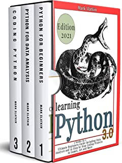LEARNING PHYTON: 3 Books in 1: Ultimate Beginners guide Including Data Analysis and 50 Step-By-Step Coding Projects in Gam...