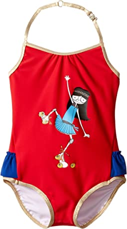 Little Marc Jacobs - Miss Marc One-Piece Swimsuit (Toddler)