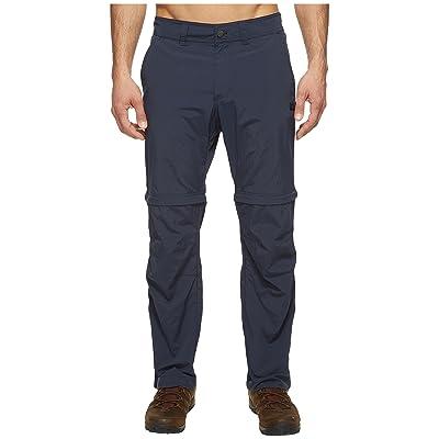 Jack Wolfskin Canyon Zip Off Pants Short (Night Blue) Men