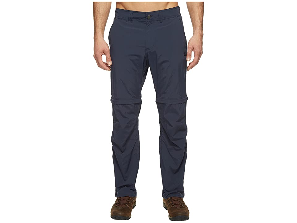 Jack Wolfskin Canyon Zip Off Pants Short (Night Blue) Men