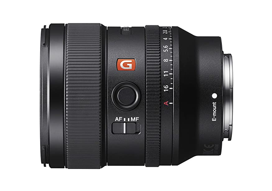 Sony SEL24F14GM FE 24mm F1.4 GM Wide Angle Prime Lens