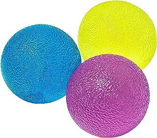 Voarge Piłki do terapii ręcznej, zestaw 3 sztuk, do treningu palców, nadgarstków, stawów, piłeczki do ćwiczeń ręcznych, te...
