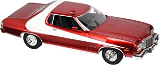 Greenlight Artisan Starsky & Hutch Ford Gran Torino Vehicle (1:18 Scale), Red Chrome