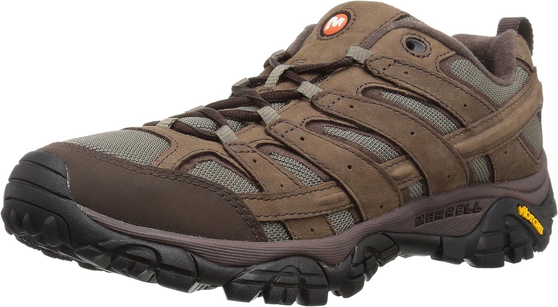 Merrell Men's Moab 2 Smooth Hiking Boot, Bracken, 13 M US