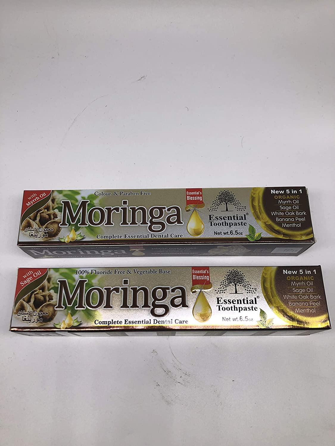 Moringa Organic Toothpaste 100% Fluoride C Max 73% OFF Base Vegetable Recommendation Free