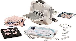 Sizzix Big Shot Foldaway, machine de découpe et de gaufrage manuelle et compacte format A5 (Ouverture 15,24 cm) avec matri...
