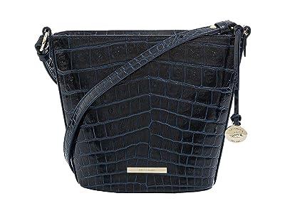 Brahmin Mini Quinn Veil Crossbody (Bluebonnet) Handbags