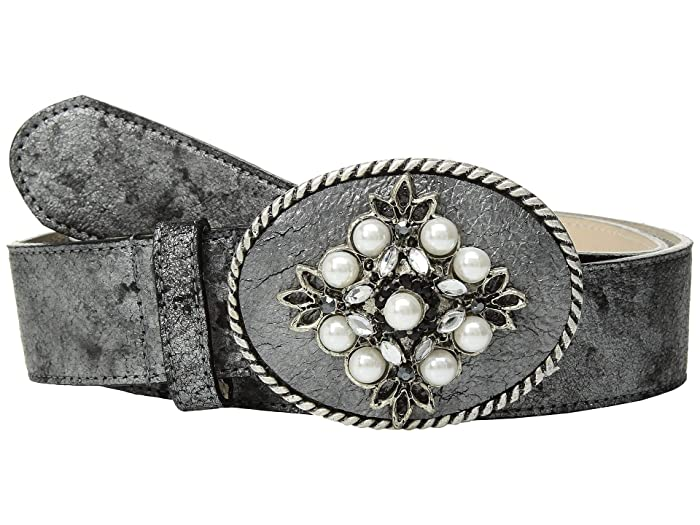Leatherock Edna Belt (Silver) Women