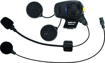 Sena SMH5-FM-UNIV Bluetooth Headset and Intercom with Built-In FM Tuner for Scooters/Motorcycles with Universal Microphone Kit