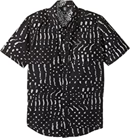 Volcom Kids - Drag Dog Short Sleeve Shirt (Big Kids)