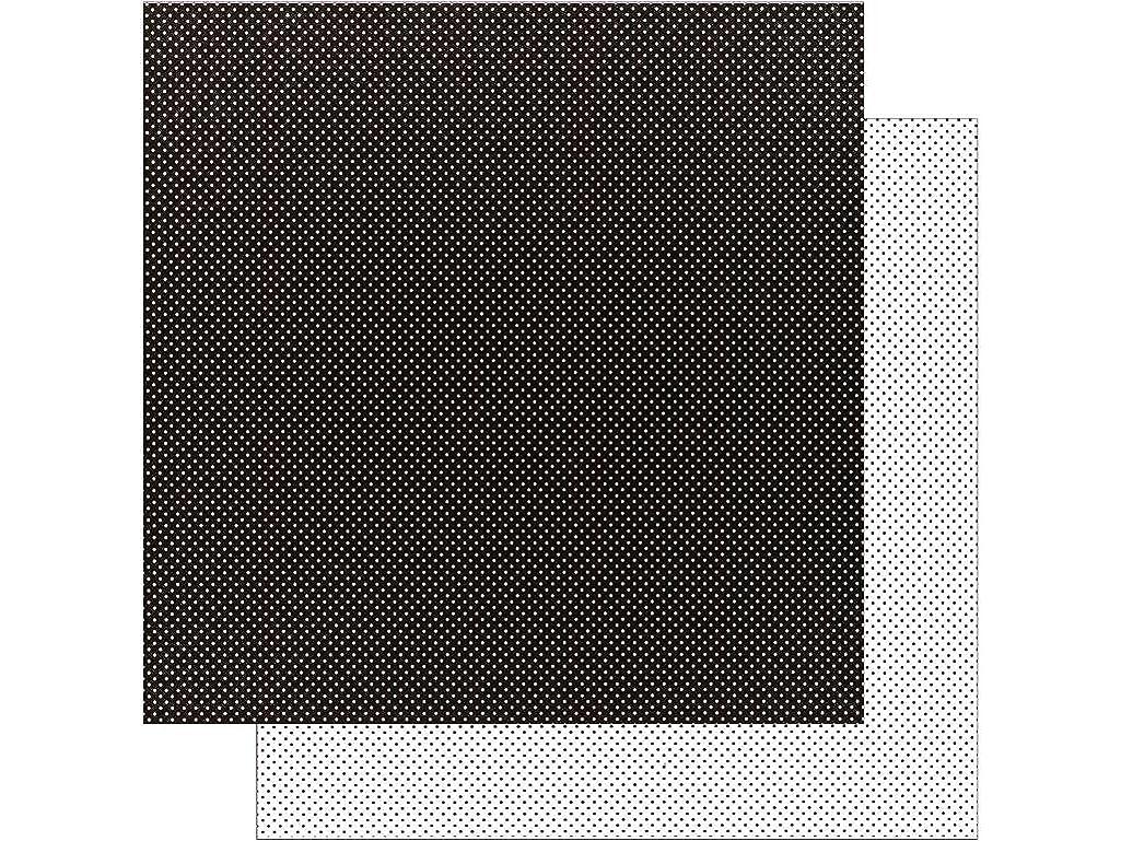 DOODLEBUG 5075 Petite Swiss Dot Cardstock (25 Sheets Per Pack), 12