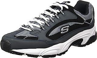 حذاء رياضي ستامينا نوفو كتباك باربطة للرجال من سكيتشرز