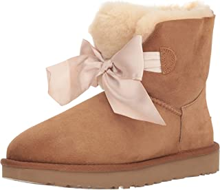 uggs with bows white