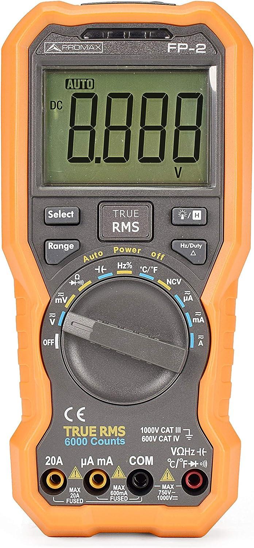 Multímetro Digital True RMS de Promax