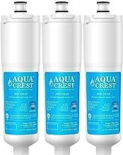 AQUACREST CS-52 Refrigerator Water Filter, Compatible with 3M Cuno CS-52, CS-51, CS-452, CS-522, CS-532, CS-562, CS450, CS-512, Bosch 640565, W1085590, 56932, 2168701 (Pack of 3)