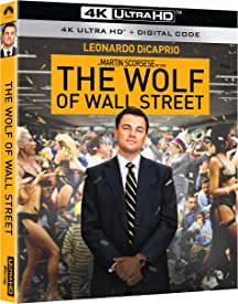 Martin Scorsese's The Wolf Of Wall Street arrives on 4K Ultra HD Dec. 14 from Paramount