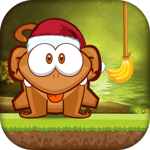Taglia la banana: corda delle scimmie