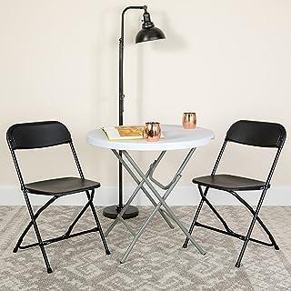Flash Furniture Hercules Series Plastic Folding Chair -...