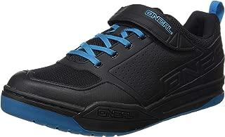 O'Neal Flow SPD Pedal Fahrrad Schuhe Sneaker MTB BMX DH FR All Mountain Bike Downhill Sport,324, Farbe Blau, Größe 44