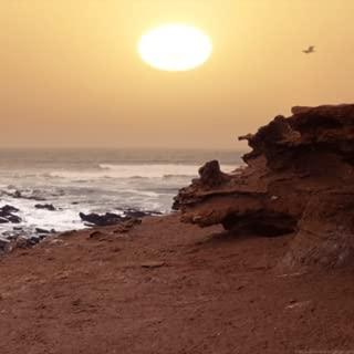 Ocean Sunset On Beach Live Wallpaper
