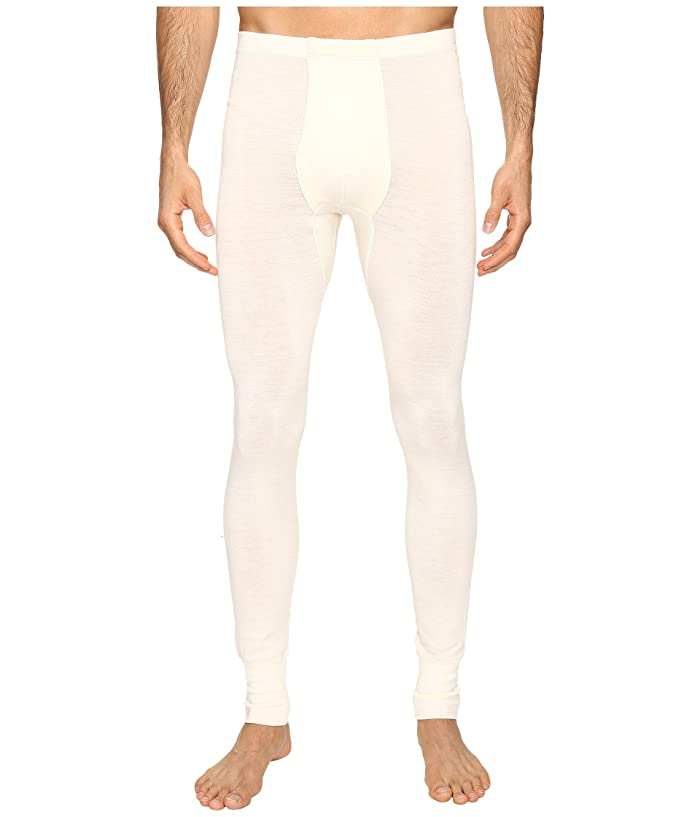 Hanro Woolen Silk Long Underwear (Cygne) Men