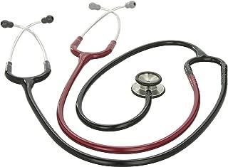 3M Littmann Classic II S.E. Teaching Stethoscope, Black and Burgundy Tube, 40 inch, 2138