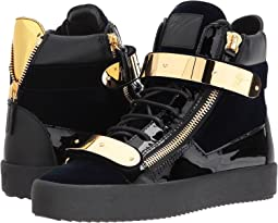 Giuseppe Zanotti May London High Top Embroidered Sneaker