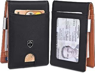 TRAVANDO Money Clip Wallet ATLANTA Mens Front Pocket Slim RFID Bifold