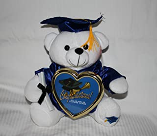 """10"""" Graduation Teddy Bear with Cap, Gown and Diploma Plush [Toy]"""
