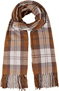Janly Clearance Sale Scarf, Women's Autumn And Winter Retro Plaid Scarf For Warmth And Cold Protection Scar, Gift for Vale...