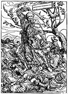 Martin Luther (1483-1546) Ngerman Religious Reformer Luther As Hercules Germanicus With The Pope Suspended From His Teeth ...