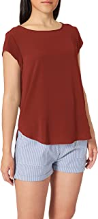 ONLY dames Onlvic S Solid Top Noos WVN T-shirt