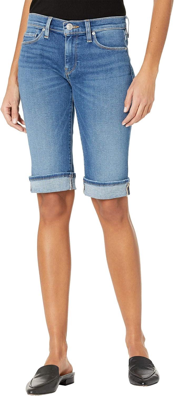 HUDSON Jeans Women's Amelia Mid Rise Knee Short, Freedom, 25