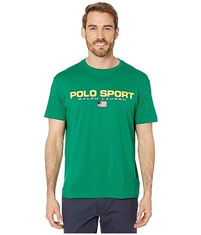 Polo Ralph Lauren Classic Fit Polo Sport Tee (English Green) Men