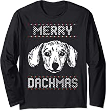 Merry Dachmas Ugly Christmas Sweater Tshirt