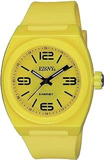 [リスニー]RISNY 腕時計 電子マネーEdy(エディ)搭載 イエロー RS-001M-02