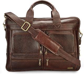 Genuine Leather Messenger Sling & Cross-Body Bags For Mens Women