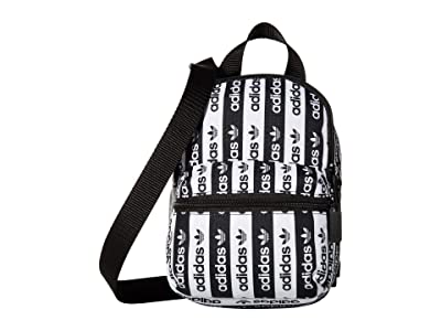 adidas R.Y.V Mini Backpack (Black/White) Backpack Bags