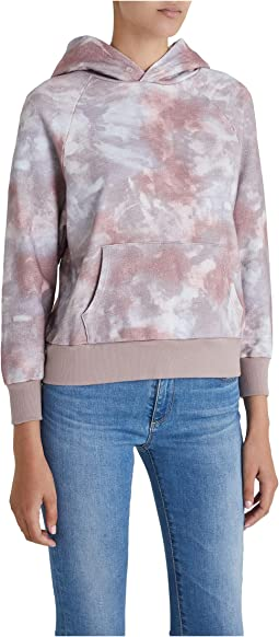 Abstract Tie-Dye Rocky Mauve