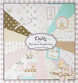 Dayka Trade Kit de Scrapbooking pour Fille 20 x 20 cm
