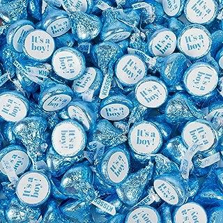 blue hershey kisses it's a boy
