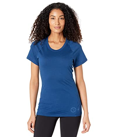 Smartwool Merino 150 Baselayer Short Sleeve (Indigo Blue) Women