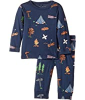 Stella McCartney Kids - Georgie+Macy Campsite Printed Top+Leggings Set (Infant)