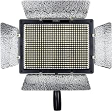 YONGNUO YN600II YN600L II Pro LED Video Light/LED Studio Light with 3200-5500K Color Temperature and Adjustable Brightness for The SLR Cameras Camcorders