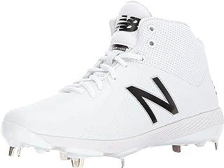 New Balance Men's 4040v4 Mid Steel Spike Baseball Shoe, AD Template Size
