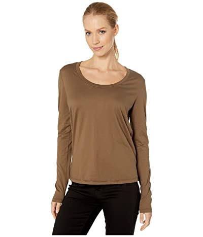 AG Adriano Goldschmied Cambria Long Sleeve Tee (Dark Bayou) Women