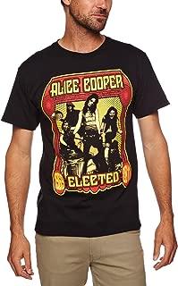 Alice Cooper - Elected Band Men's T-shirt Black Large