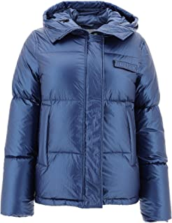 KENZO Luxury Fashion Womens F962BL07458276 Blue Down Jacket | Fall Winter 19