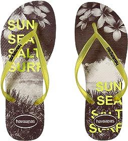 Slim Paisage Flip Flops